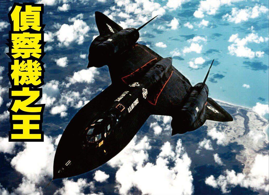SR-71不曾被敵機或防空飛彈擊落,且至今保持飛行高度和速度紀錄。 (法新社)