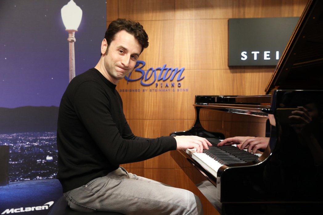 《樂來樂愛你LALALAND》作曲家賈斯汀.赫維玆首度來台。記者徐兆玄/攝影