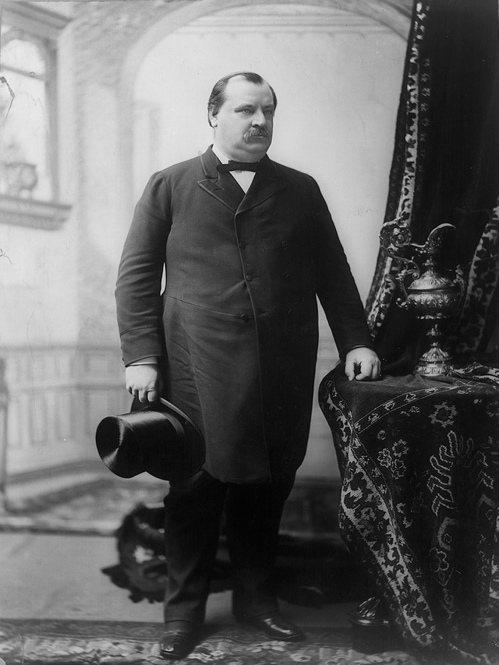 美國故總統克里夫蘭當過紐約州水牛城市長。 (美聯社)
