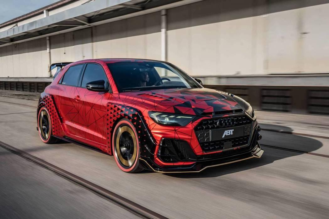 Audi A1 '1 of 1'。 ABT提供