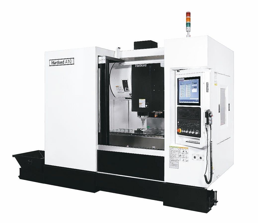 協鴻工業新推出與日本同等級加工精度的A10立式加工中心機。 協鴻工業/提供