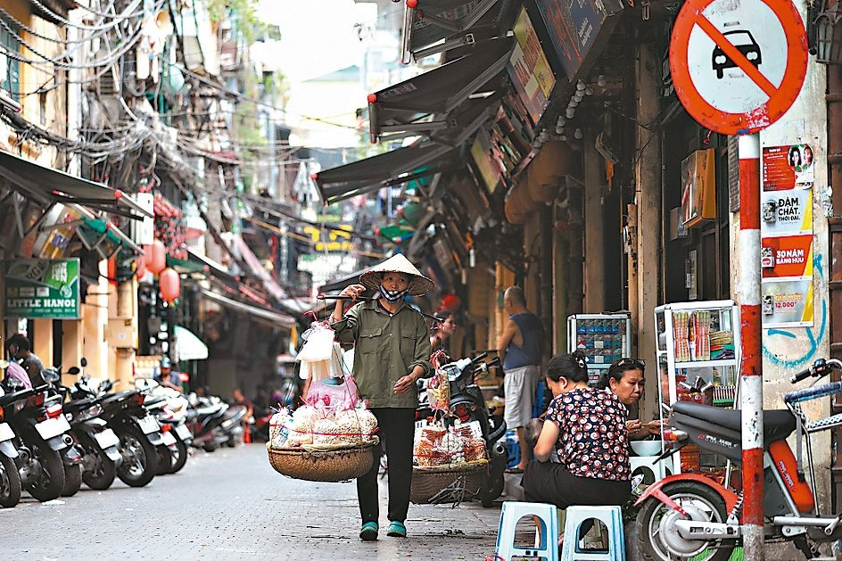 越南刺激經濟成長,央行宣布擴大寬鬆。 歐新社