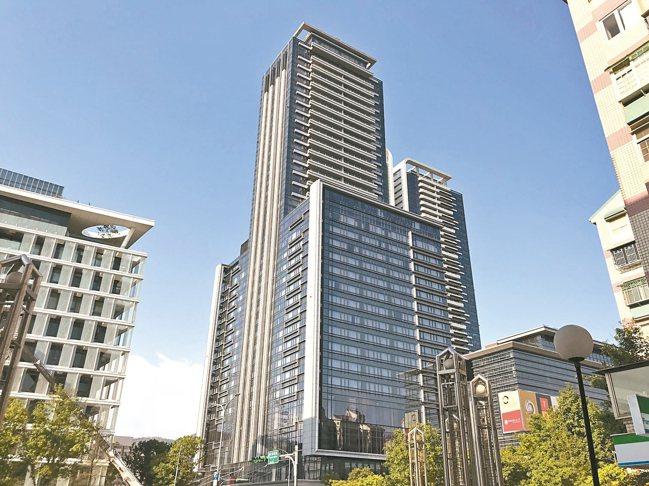 北市大直知名豪宅「西華富邦」。 記者游智文/攝影