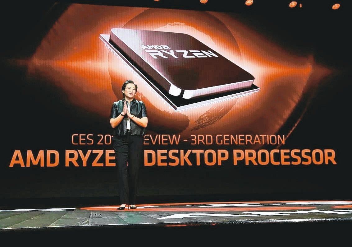在台積電7奈米協助下,AMD在關鍵市場市占率攀升,重拾昔日榮耀。 圖/AMD提供