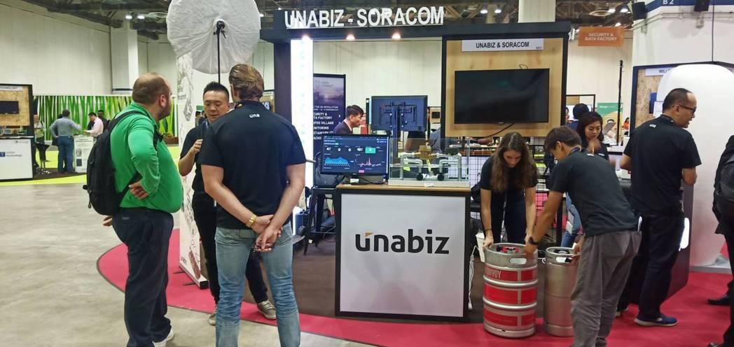 UnaBiz優納比為Sigfox物聯網生態中,堪稱最積極活躍的營運夥伴。 蔡尚勳...