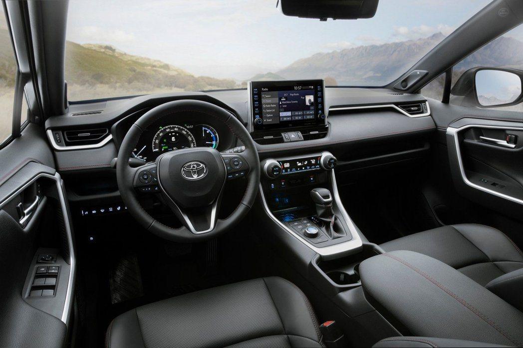 全新Toyota RAV4 Prime內裝。 摘自Toyota