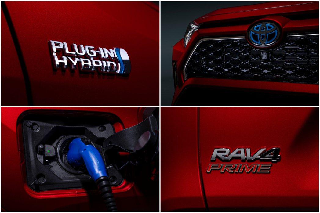 全新Toyota RAV4 Prime是品牌第一款插電式休旅。 摘自Toyota