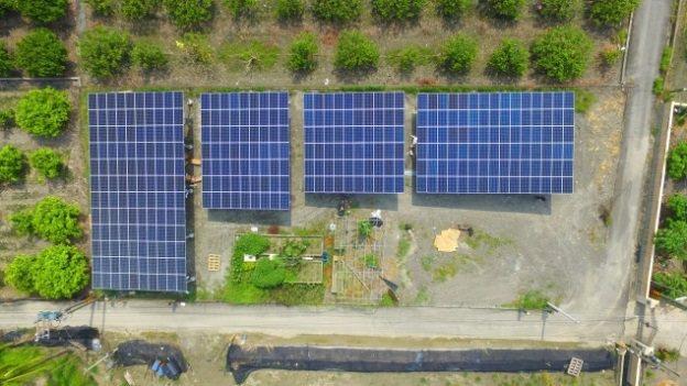 出租一分農地種電,閒置土地重新活化。