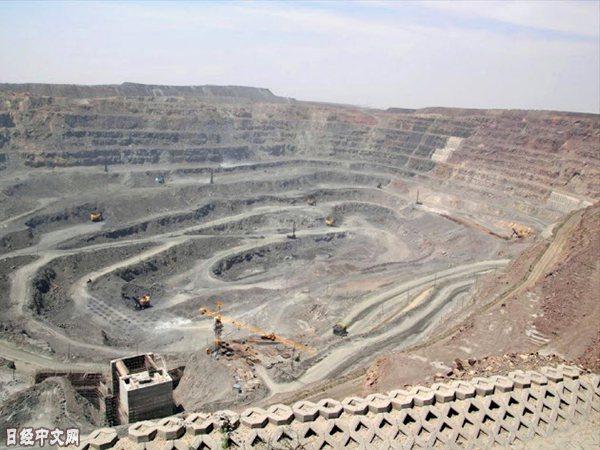 中國的稀土礦山