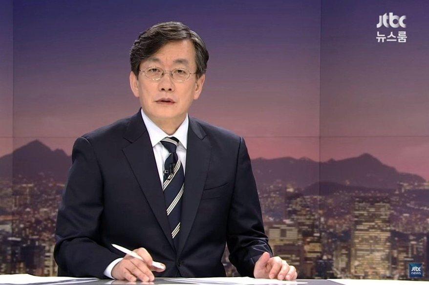 孫石熙是南韓新聞界的標竿性人物。 圖/截自JTBC