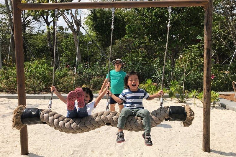 孩子是用生命在玩,遊戲就是他們的生命。 圖/作者提供