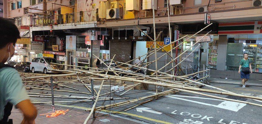 香港民眾抗爭活動,已經持續6個月。(Photo by K.rol2007on F...