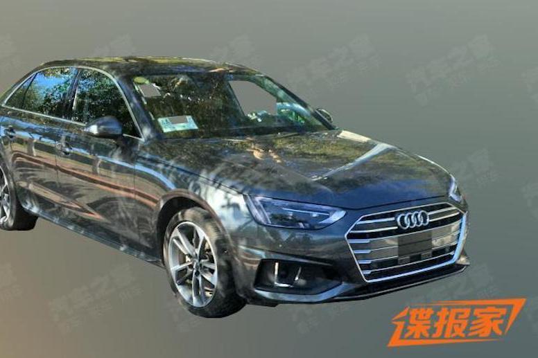 小改Audi A4 L中國現身 40 TFSI打頭陣!