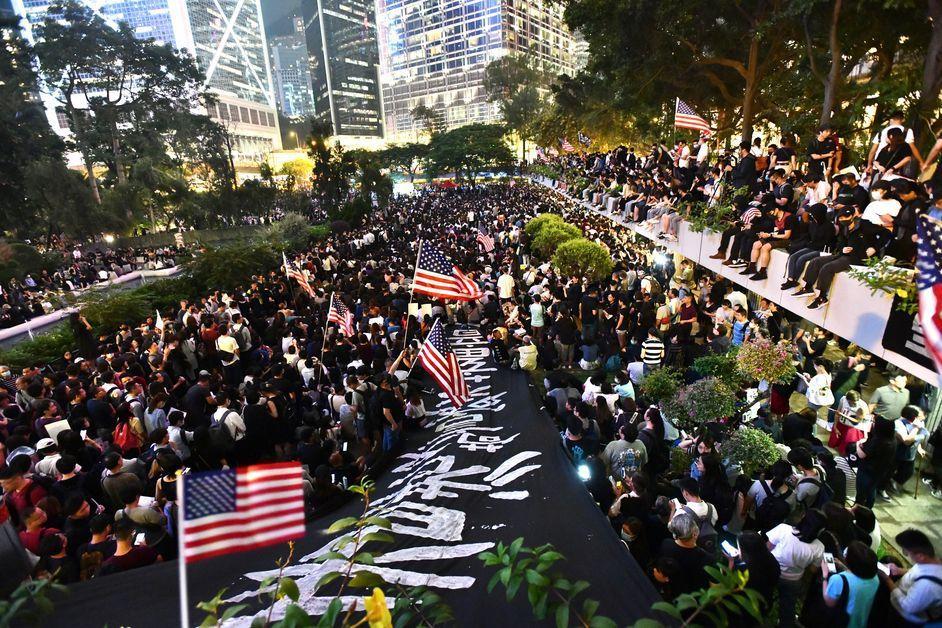 美參院通過香港人權法案,港府表示極度遺憾,並指有損雙方關係。取自星島網
