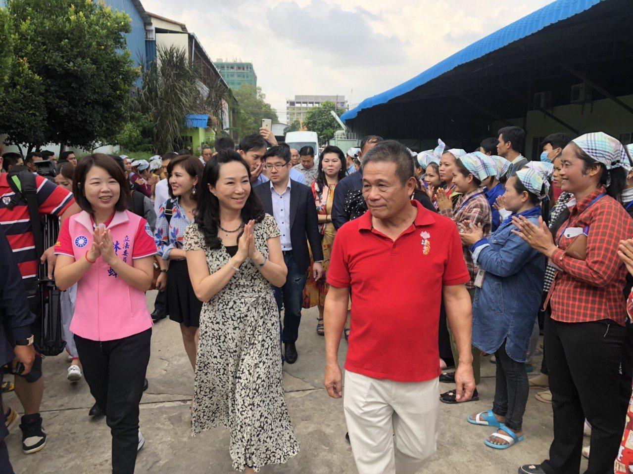 李佳芬訪柬埔寨、泰國等地。圖/韓國瑜競辦提供
