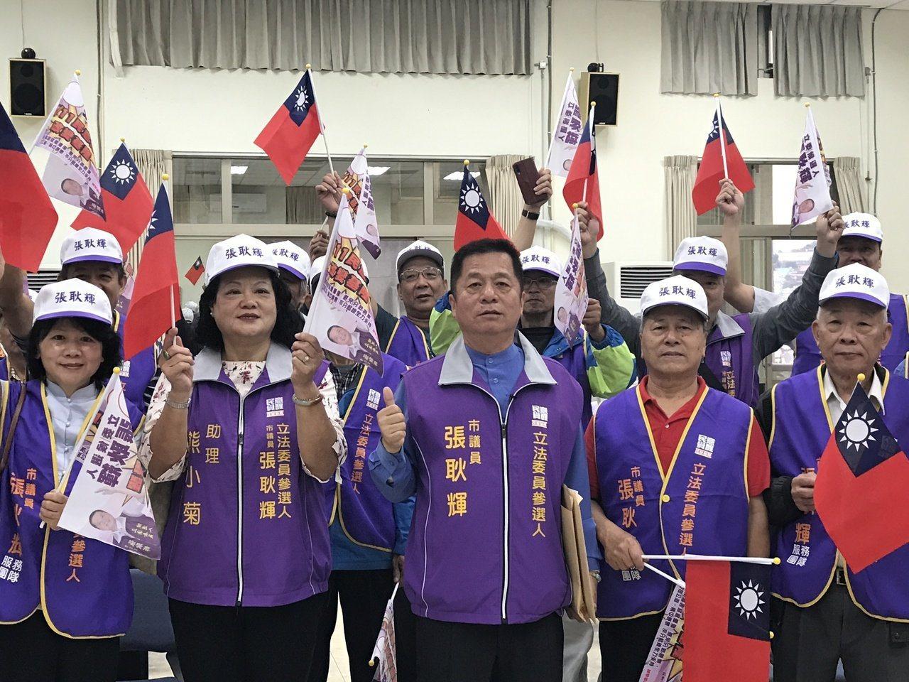 無黨籍立委參選人張耿輝。圖/報系資料照