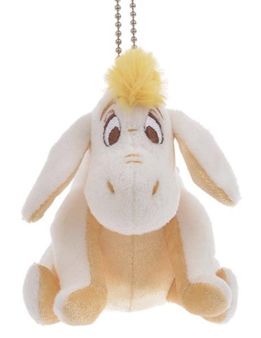 呆萌「屹耳」搭配頭上香檳金毛毛,可愛程度爆表。圖/取自DisneyStore