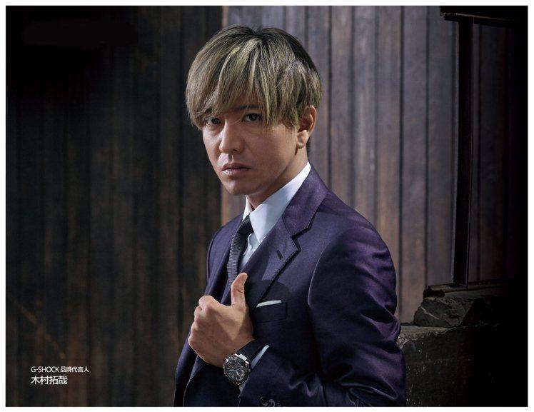 日劇男神為G-Shock拍攝全新形象廣告。圖/摘自微博