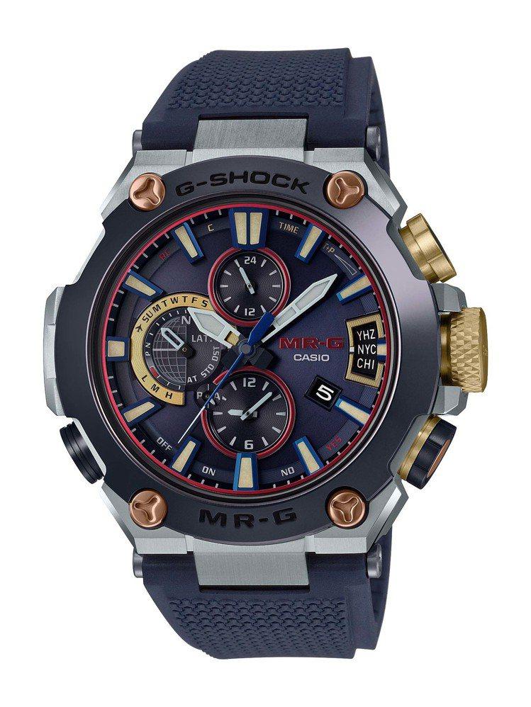 G-Shock MRG-G2000RJ-2A腕表,鈦金屬表殼,約16萬5,000...