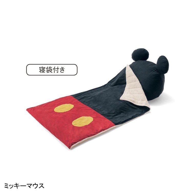 經典米奇懶人椅+睡袋。圖/摘自bellemaison網站