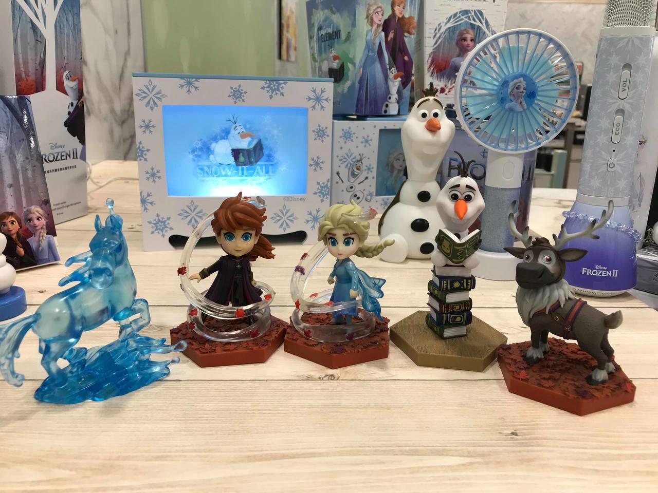 7-ELEVEN推出野獸國《冰雪奇緣2》蛋擊系列肖像公仔,售價299元,共5款。...