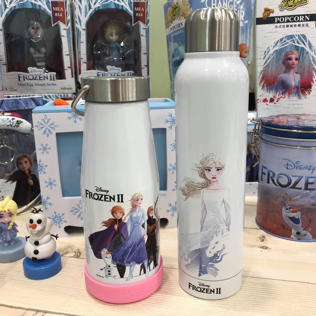 ibon mart開賣的康寧Snapware冰雪奇緣超真空不鏽鋼保溫杯380ml...