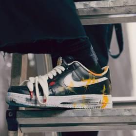 炒價破兩萬!G-Dragon X Nike AF1神鞋 11月23日全球開搶