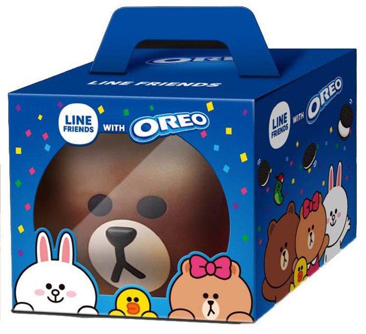 OREO with LINE熊大存錢筒,售價249元,7-ELEVEN於11月2...