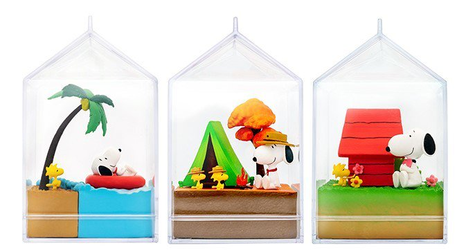 7-ELEVEN獨家推出的CHiC水果軟糖(史努比情境公仔),售價149元,共3...