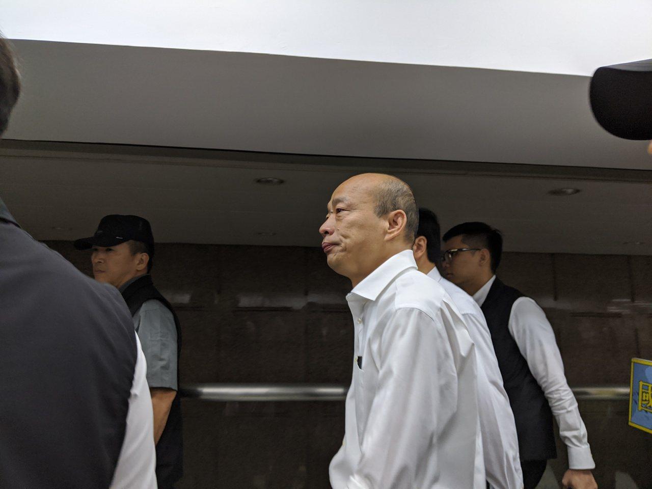 國民黨總統參選人韓國瑜。資料照片,記者蔡佩芳/攝影