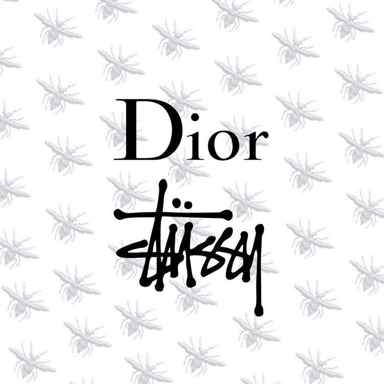 據傳Dior將與街頭潮牌Stussy推出聯名單品。圖/取自IG