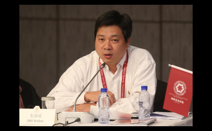 摩根大通中國首席經濟學家朱海斌。圖:中新社