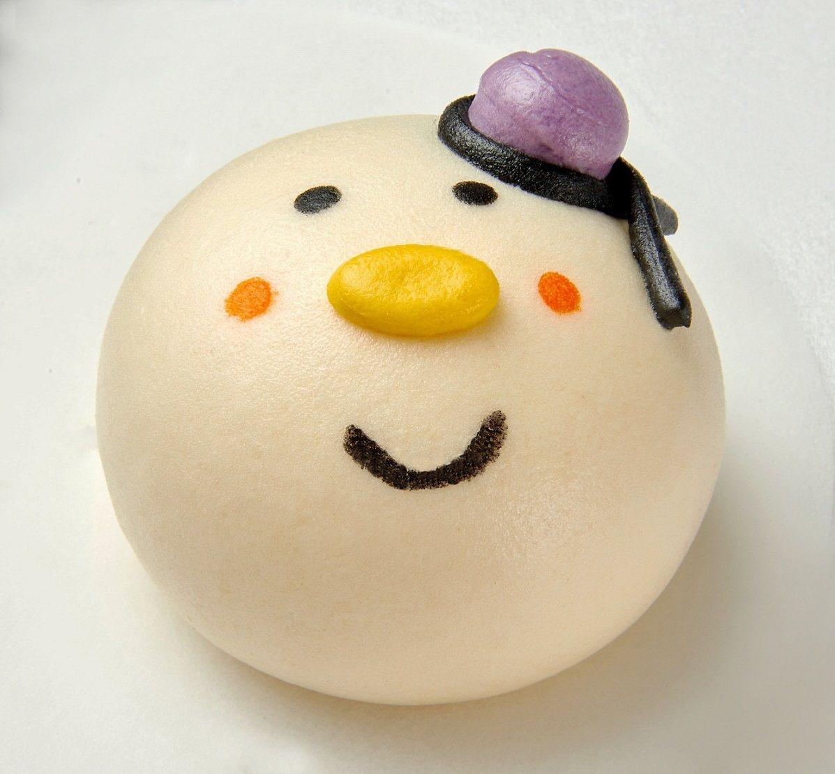 板橋車站「点心」12/15至12/25推出耶誕限定獨家商品「雪人豆沙包」、「耶誕...