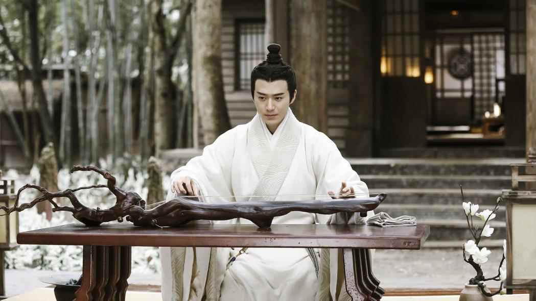 茅子俊演出「皓鑭傳」人氣暴漲。圖/八大提供