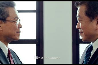 楊烈(左)、林在培在「國際橋牌社」中分別飾演總統、國防部長。圖/馬克吐溫國際影像...