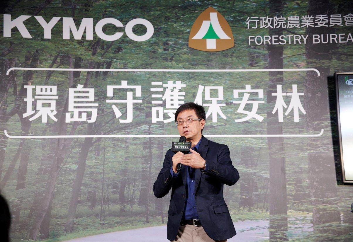 林務局長林華慶。圖/林務局提供