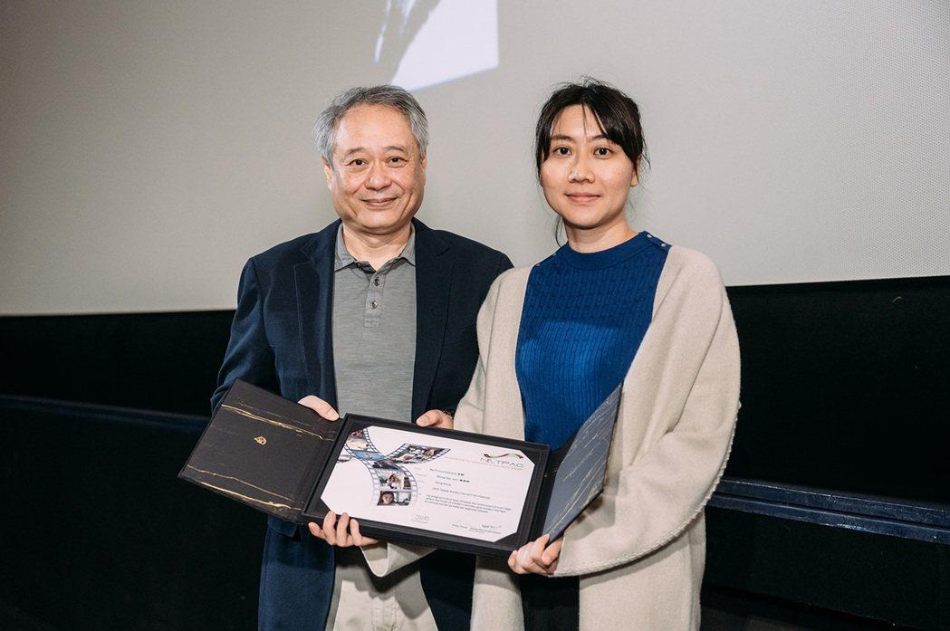 香港導演黃綺琳「金都」榮獲奈派克獎。圖/金馬執委會提供