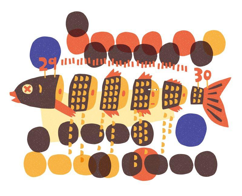 【小毛病通訊】李達達/焦慮是一百萬條黑鯉魚