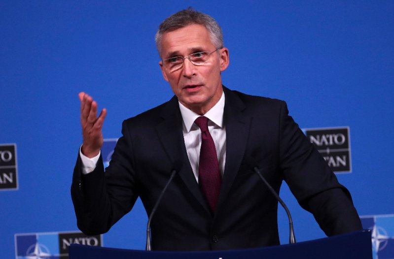 北約秘書長史托騰柏格(Jens Stoltenberg)。 美聯社