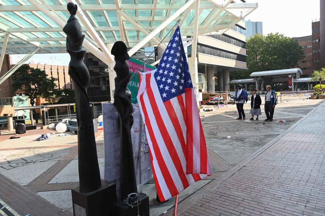 美國聯邦參議院通過「香港民主與人權法案」,引起北京高度不滿,連日重砲批美。 法新...