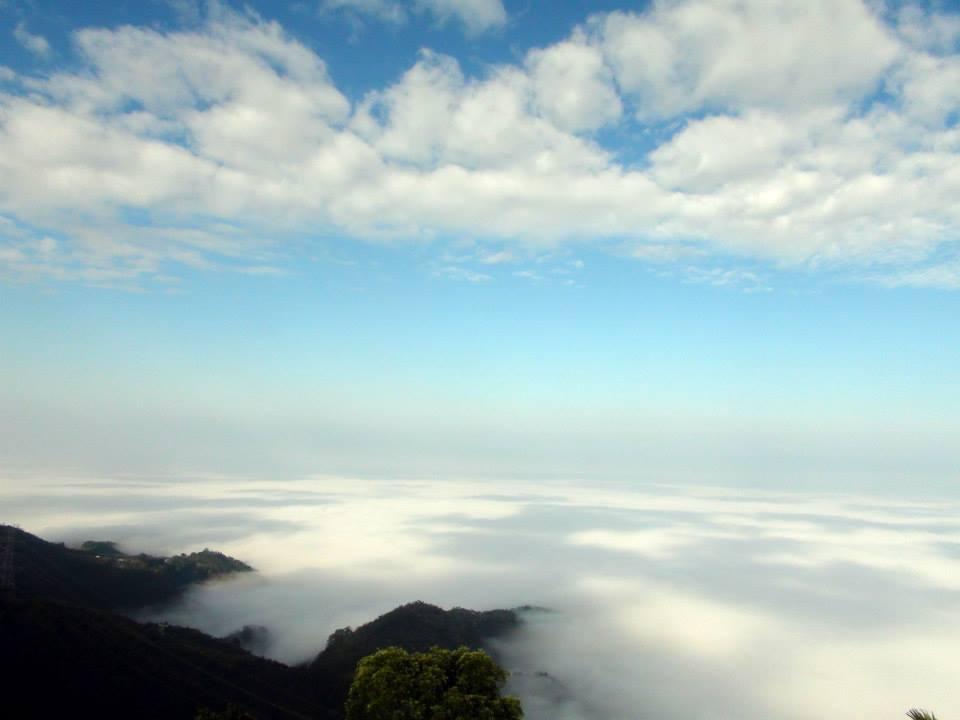 在天氣冷熱轉換頻繁時,正是賞雲海的時節 圖/本報資料照