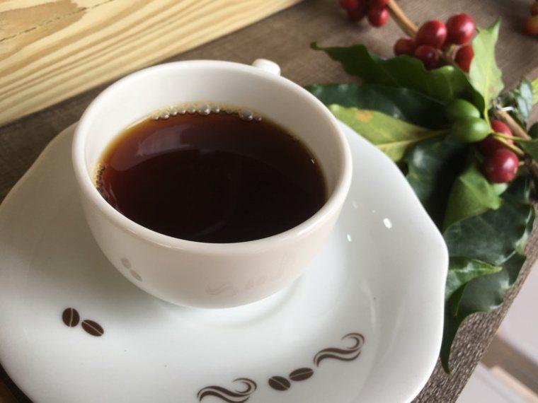 咖啡示意圖。 圖/陳雅玲攝影