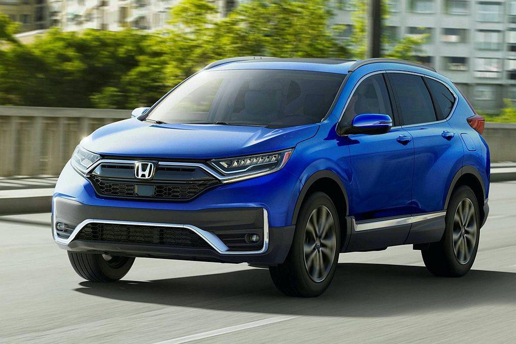 小改款Honda CR-V率先在美國市場開賣,動力取消過往2.4L自然進氣選項。...