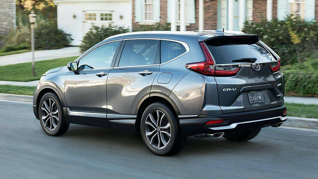 美規小改款Honda CR-V針對避震器阻尼重新調整,契合重新設定的前/後防傾桿...