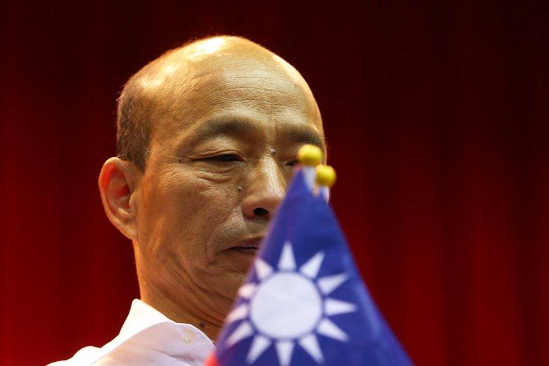 國民黨不分區名單出爐後,總統參選人韓國瑜坦言與期待有落差。 圖/聯合報系資料照