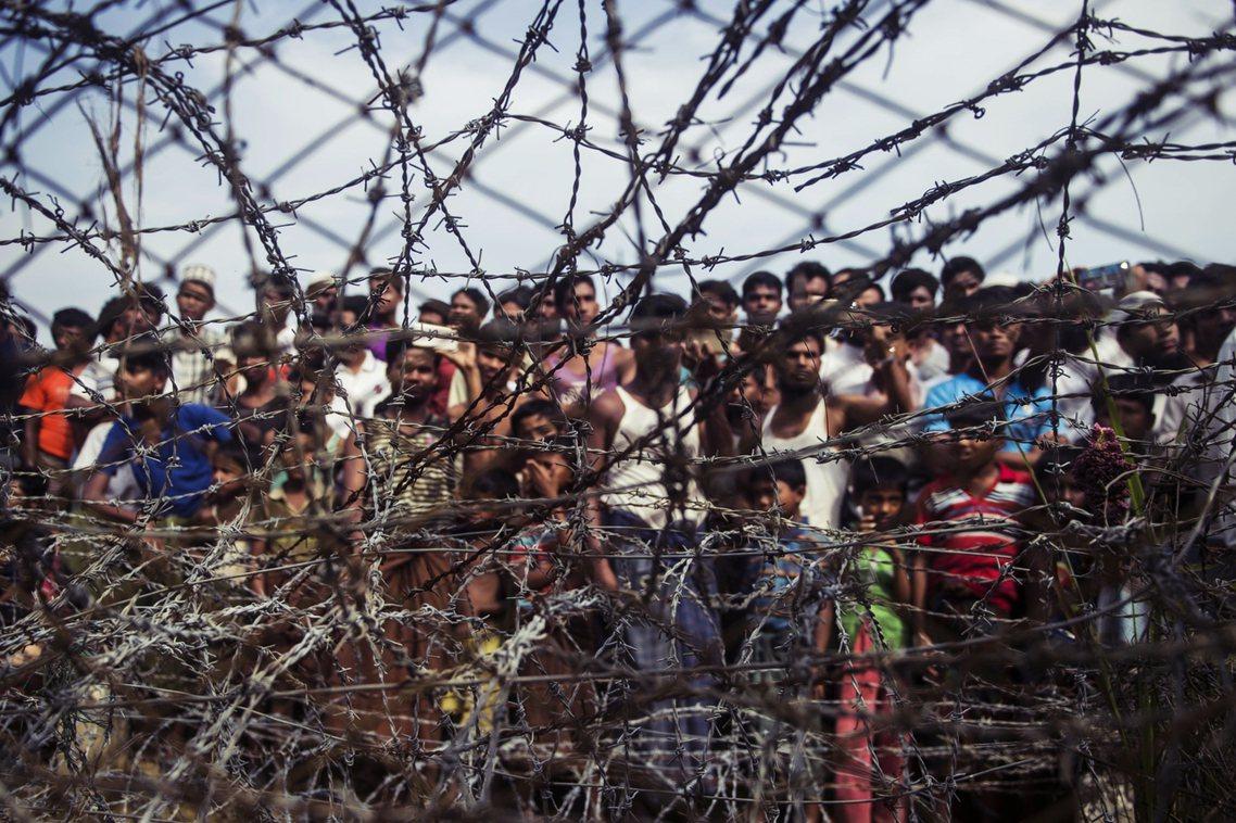 羅興亞難民資料照片 圖/法新社