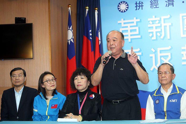 名列國民黨不分區安全名單的吳斯懷,曾赴中聆聽習近平講話與中共國歌。 圖/聯合報系資料照