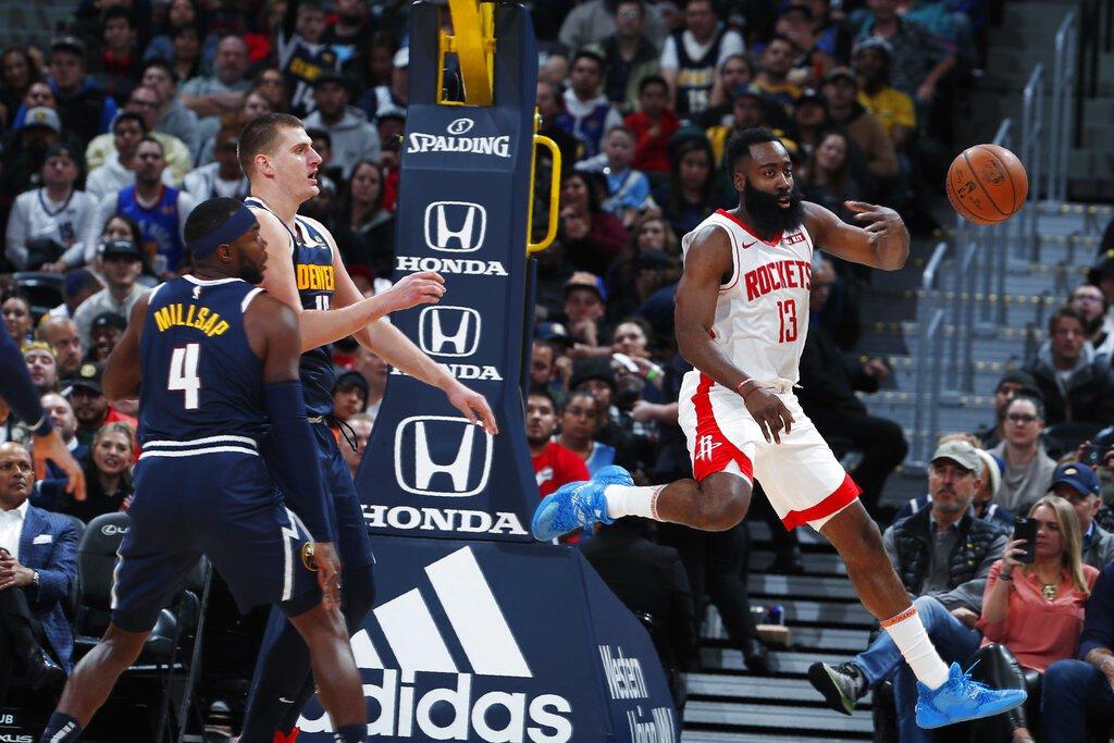 NBA/火箭本季首度未破百 遭金塊終結8連勝