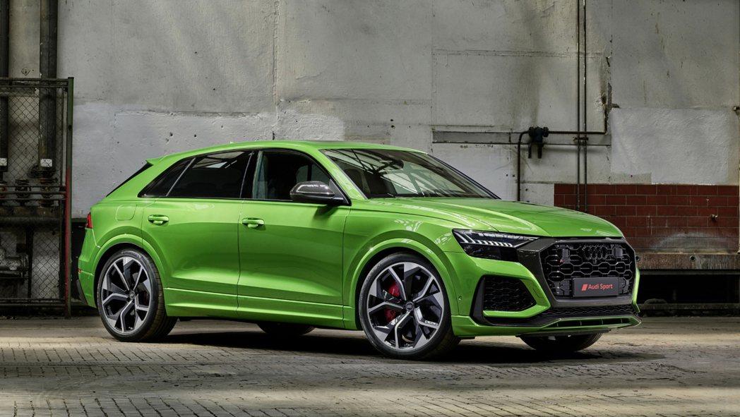 全新Audi RS Q8正式發表。 摘自Audi