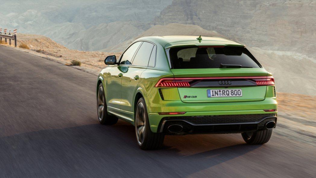 Audi RS Q8是品牌最強休旅。 摘自Audi